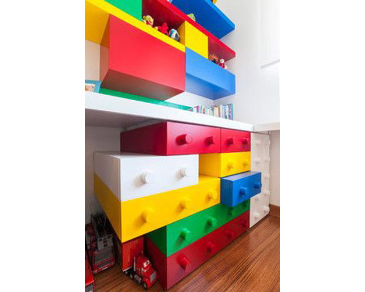 Junior Design Lego Inspired Kids Room