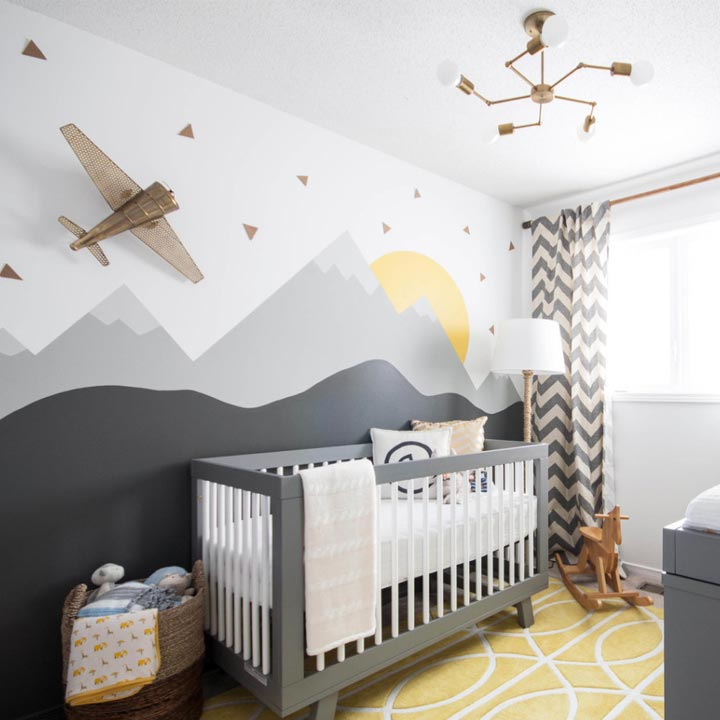 12 Nursery Trends For 2017: Top Ten Nursery Design Trends For 2017